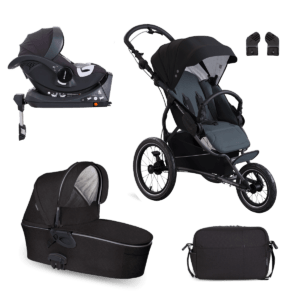 SET 3V1 X-RUN X-CAR ISOFIX – Astral Black