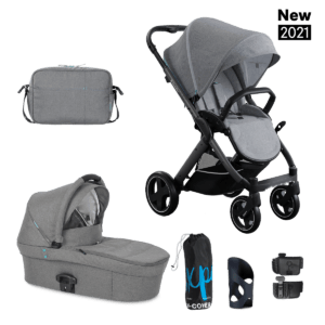 ZESTAW 2W1 XL X-PULSE – Azure Grey