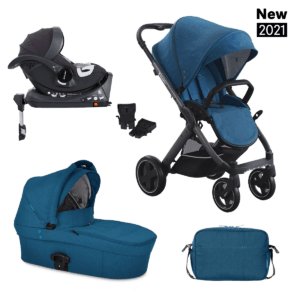 SET 3v1 X-PULSE X-CAR ISOFIX – Petrol Blue